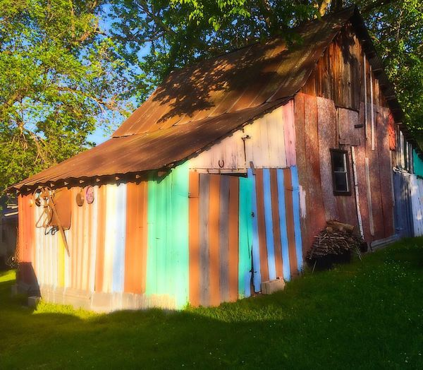Barns, old barns