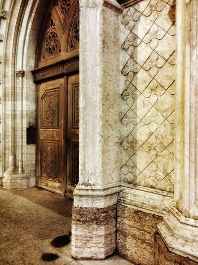 Showcase: February Night Photography Night Lights Night Shades Night Walks Trento Italy Travel Traveling Travel Photography Architecture Churches Stone Textures Wooden Doors Mobile Photography Art Fineart Mobile Editing