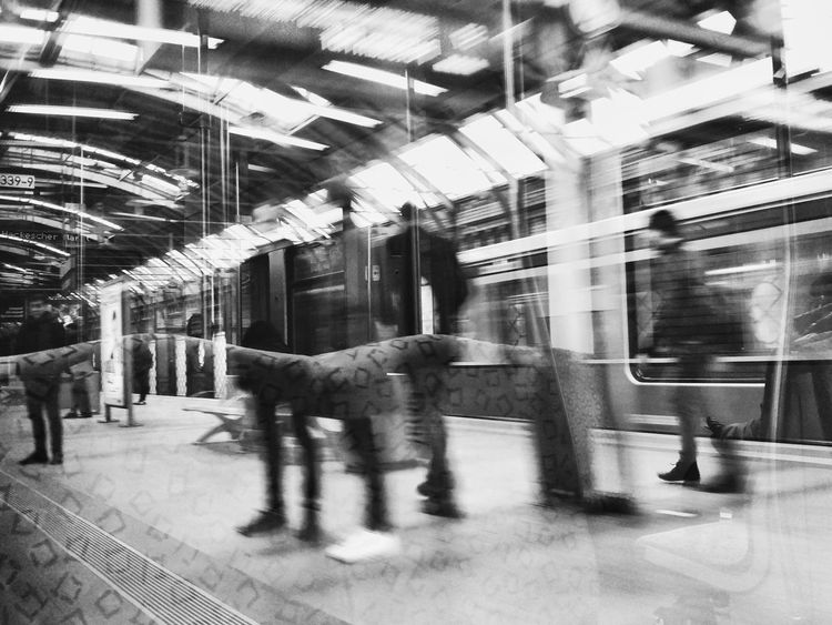People Architecture Different Perspective Berlin Travel Destinations Urban View Deutschland Blurred Motion Blurred Visions Layers Layers And Layers Motion Blur Black And White Black And White Photography Black And White Collection  Berlin Photography Street Photography Berlin Street Photography Train Window Out Of The Train Out Of The Train Window Complex Artistic Photo Hackescher Markt Berlin S-Bahn Discover Berlin