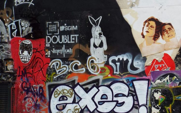 Paris Streetphotography Streetart Streetart/graffiti Street Photography Paris ❤ Fontaine Stravinski Street Urban Centre Georges Pompidou