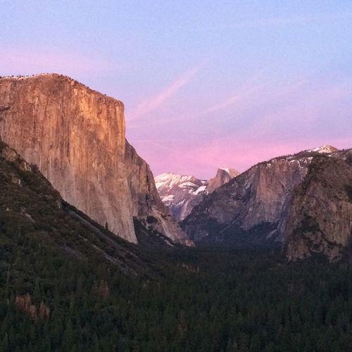 El Capitan National Park National Yosemite National Park Outdoors Travel Destinations Sky Day California Dreamin