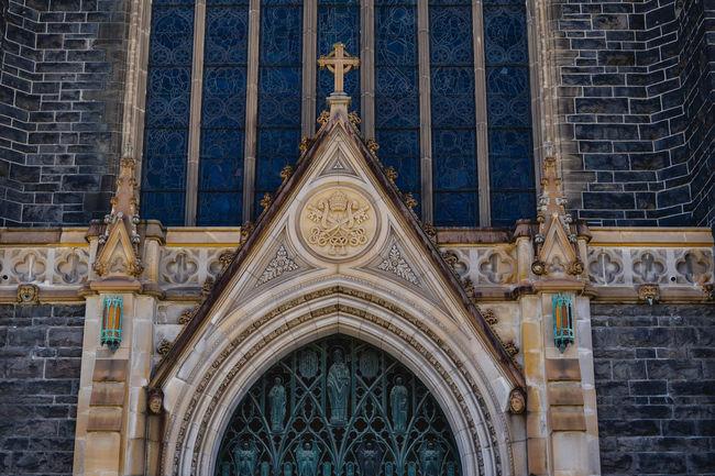 Architecture Australia Cathedral Catholic Church Arch Architecture Built Structure City Melbourne No People Place Of Worship Religion Spirituality St Patrick Stparickscathedral Window