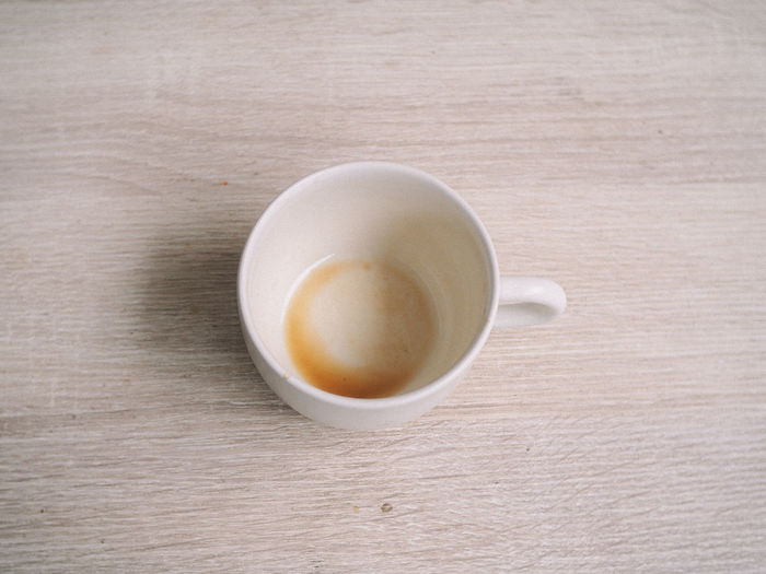 Drink Refreshment Cup Food And Drink Table Mug Coffee Coffee - Drink Coffee Cup Still Life Freshness Wood - Material Indoors  Directly Above No People Close-up High Angle View Frothy Drink Hot Drink Food Non-alcoholic Beverage Crockery Tea Cup Wood Grain