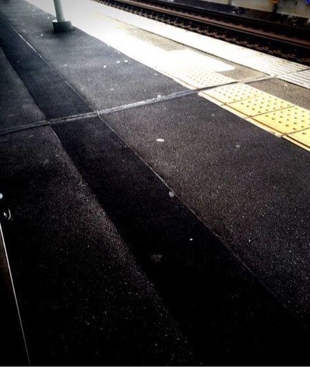 Japan Kobe Hankyu HANKYU-railway Platform Today Endofsummer IPhone August 2016
