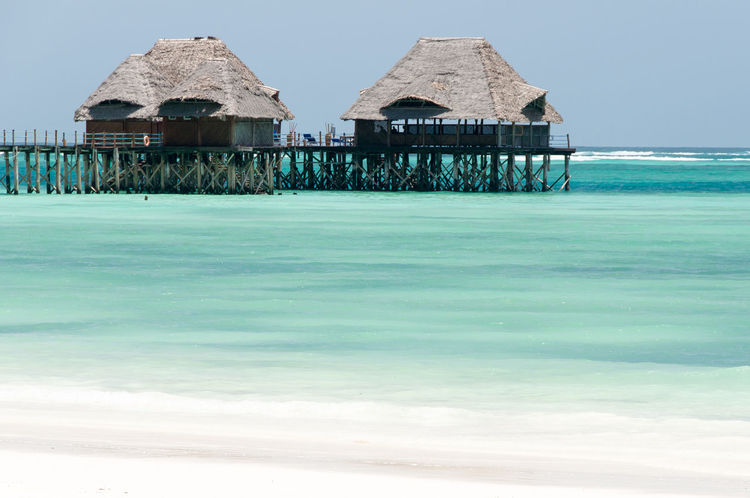 Palafitte Architecture Beach Built Structure House Indian Ocean Palafitte Pilework Sand Sea Shore Tranquility Water