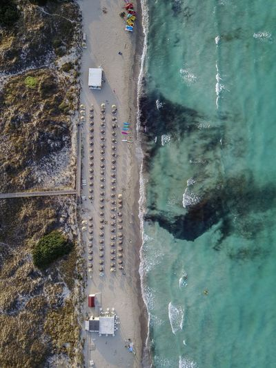 Drone  Mallorca SPAIN Architecture Beach Beauty In Nature Building Exterior Built Structure Day Nature No People Outdoors Sea Water