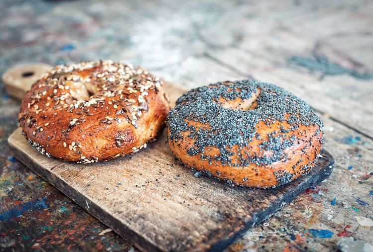 Bread Cooking Bagels Freshness Food No People Food And Drink Close-up Seed Loaf Of Bread Healthy Eating Sesame Seed Ready-to-eat Day