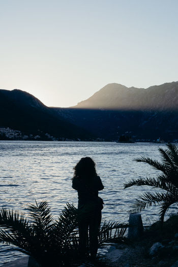 Exotic Ocean Montenegro Summer Water Mountain Lake Tree Snow Silhouette Clear Sky Astronomy Reflection Sunset Pine Tree