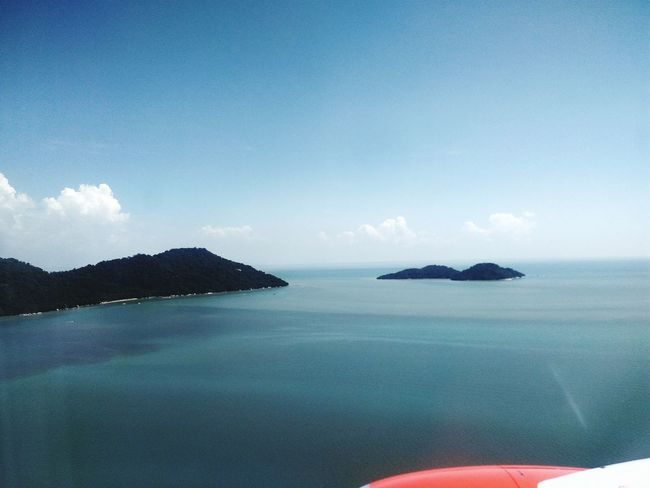 Blue Sea Beauty In Nature Scenics Nature Water Idyllic Cloud - Sky Tranquil Scene Sky Landscape Horizon Over Water No People Outdoors Beach Day Beautıful No Edit/no Filter Beauty In Nature Aeroplane View Aeroplane Window View Aeroplane Window Travel Brautiful View Water Reflections