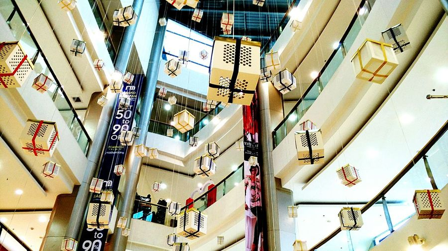 Hanging Out Shopping Mall Showcase: December Decorations Hanging Lamps Funday Shopping Time The Places I've Been Today Your Design Story
