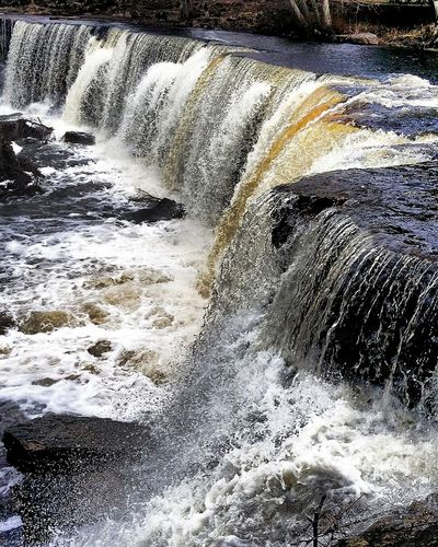 Nature Day Motion Outdoors Water Wave Waterfall Tallinn Estonia