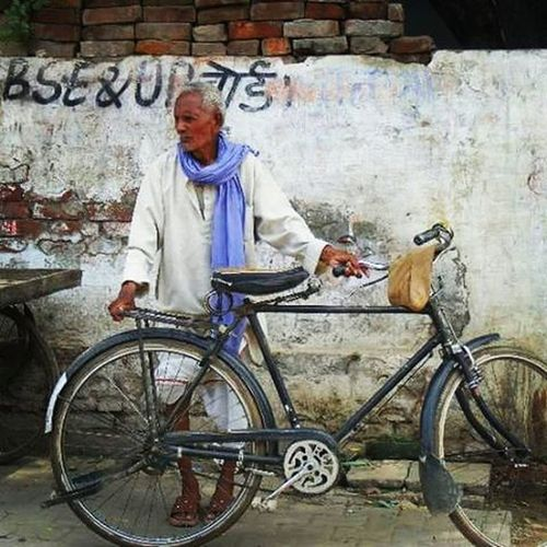 """When I see an adult on a bicycle, I do not despair for the future of the human race."" - H.G. Wells. Bicycle Incredibleindia Dehli India"