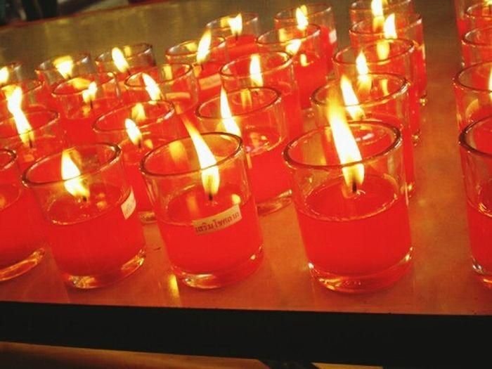 วัดเล่งเน่ยยี่2 Good Morning World! Pray Chinese Temple Hello World Thailand Blessing Candle Light
