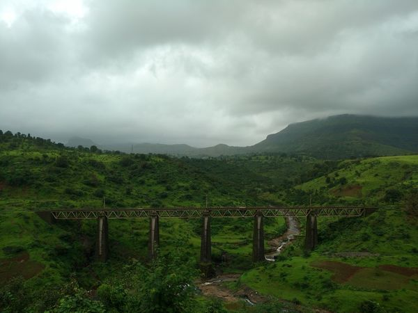 Railway Bridge Bridge - Man Made Structure Nature