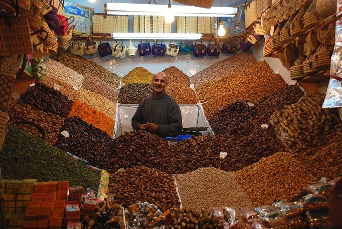 Small Business Heroes The Tourist Morroco Marakesh Morocco Marakesh Dried Fruit Dried Nuts Salesman Dried Fruit Nut Nuts Many Fertility Sales Arabic