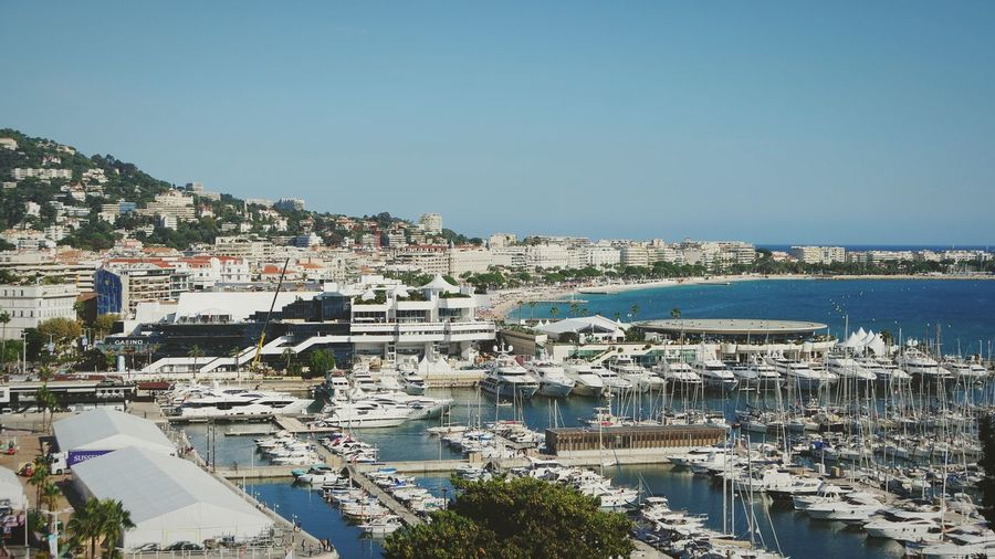 Cannes, France Port Boats Harbour View View From Above City Cityscape Water Sea Residential Building Beach Sky Architecture Building Exterior Residential District TOWNSCAPE Financial District