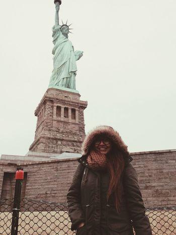 Newyorkcity Newyork Happynewyear2014 Statueofliberty