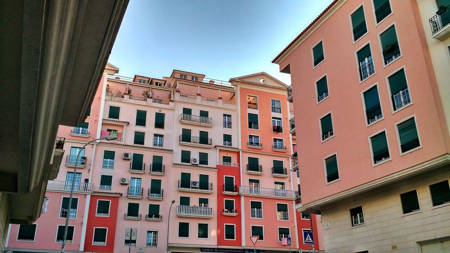 Lisbon corners City Low Apartment Cityscape Community Photograph Residential Building Window Façade Business Finance And Industry TOWNSCAPE Residential District Residential Structure