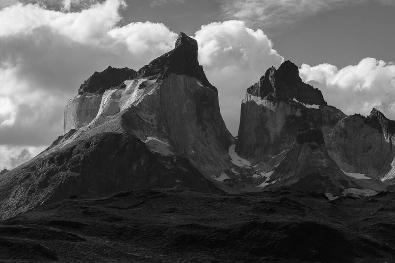 Cerro Almirante Nieto Andes Andes Mountains Patagonia Chile Torres Del Paine National Park Mountain Rock - Object Sky Natural Landmark Rock Formation Cliff Rock My Best Photo