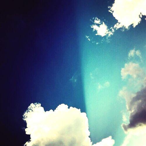 Небо разделилось