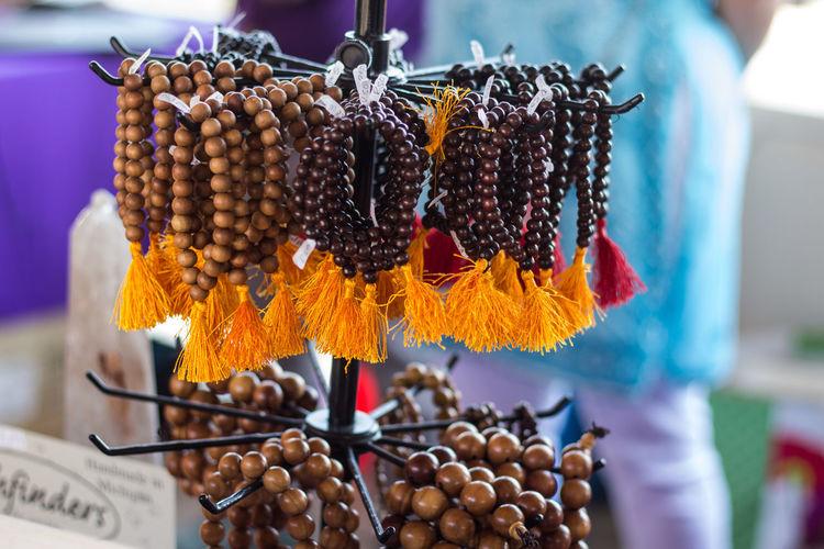 Bracelets Buddhist Bracelets Close-up Malas Prayer Beads Religion Selective Focus Wrist Mala
