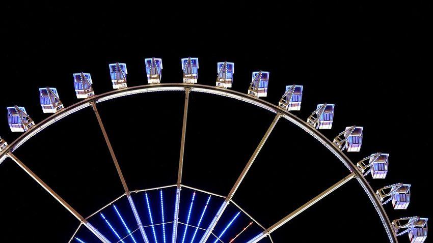 Fairground Nightshot Fair Ferris Wheel Night Photography Ferriswheel Light In The Darkness Hamburger Dom Night View Night Lights Colour Of Life Nightlights DARKNESS AND LIGHTING Darkness And Light Night Time Dark Background FunRide Funrides AI Now