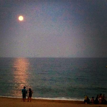 Mataró Light Fotosdesomni Super Moon lunallena