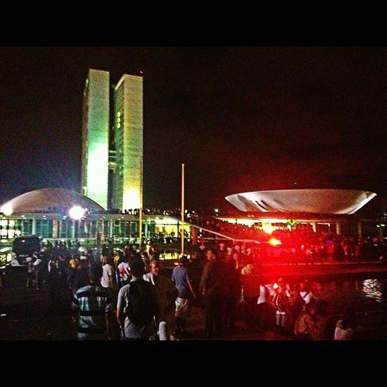 Protesto no Congresso Nacional Protesto Congressonacional Foradilma Photooftheday congresso manifestacao brasilia df