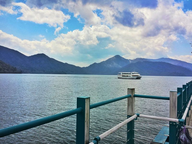 calm... || Lake Chuzenji Travel Travels Travelling Traveling Explore Nippon Clouds And Sky Mountains Relax Mode
