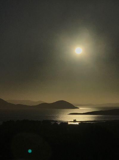 Ballinskelligs Kerry Ireland Kerry Castle Castle Ruin Sea Sun Beauty In Nature Scenics Nature Landscape Sky