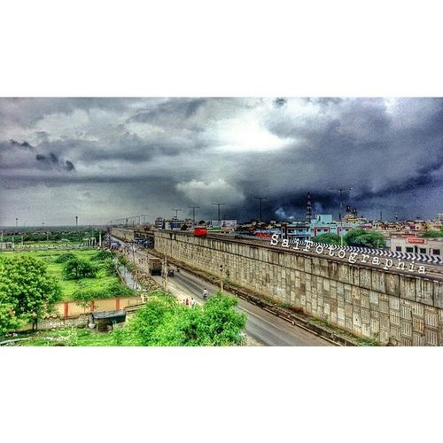 Monsoon Gandhidham Cloudy Rain