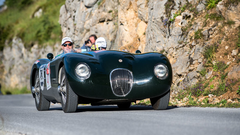 Australia JAGUAR Ennstalclassic Jaguar D-type Oldtime Rallye Styria Sunnyday