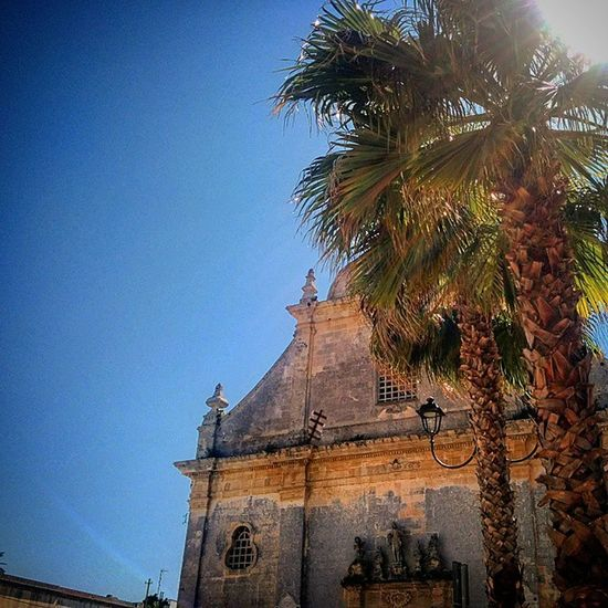 Ortelle Salento Piazza Italia italy puglia cielo sky chiesa church