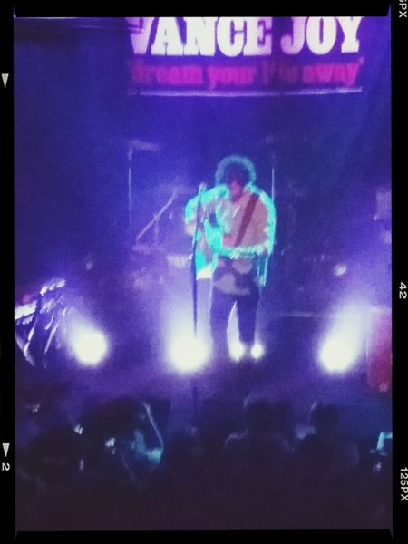 Vance Joy @TREES deep ellum