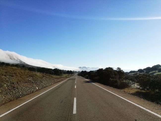 Traveling Home For The Holidays Road Landscape Capture The Moment Nature No People HuaweiP8 The Way Forward Foggy Mountains