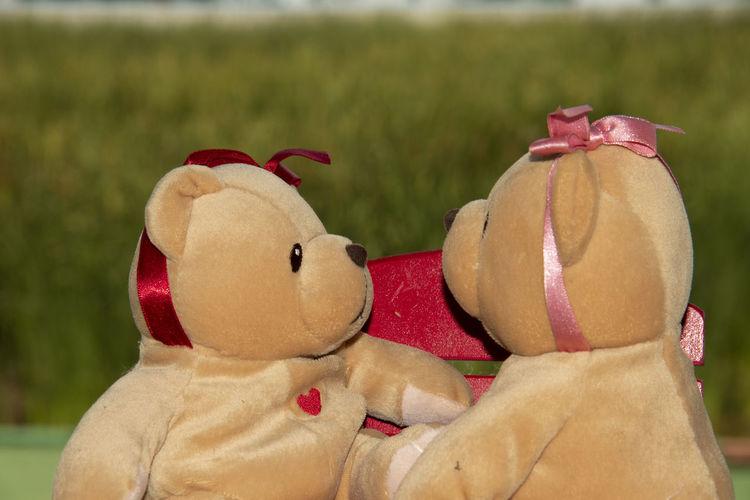Close-up of figurine toys