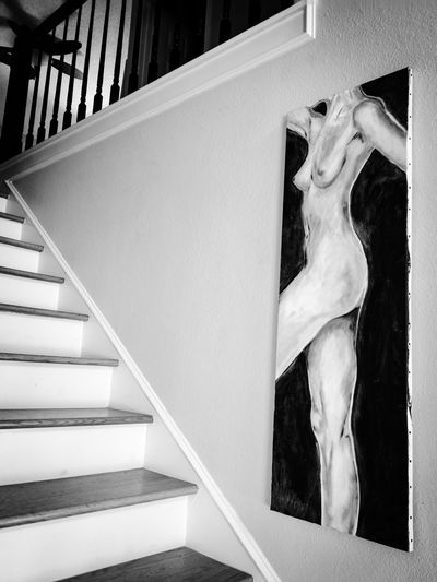 Home Is Where The Art Is Stairs Staircase Stairway Indoor Photography Indoor Architecture Wall Wall Art Art ArtWork Showcase August My Favorite Place