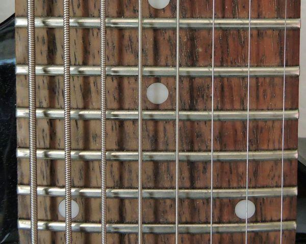 Taking Photos Guitar Ibanez 8string Music