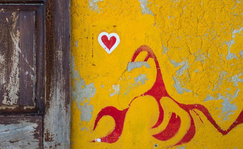 Graffiti on