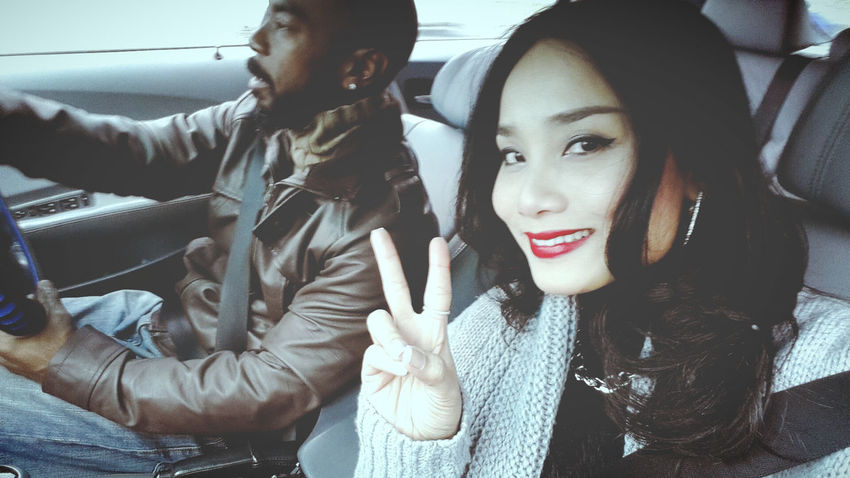 My personal driver lol Love ♥ Hanging Out Outandabout in Frankfurt Am Main