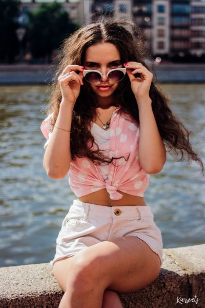 Streetphotography Summer ☀ EyeEm Best Shots Karpetsphoto EyeEmBestEdits Photo Photography Russian Girl Moscow Portrait Color Portrait