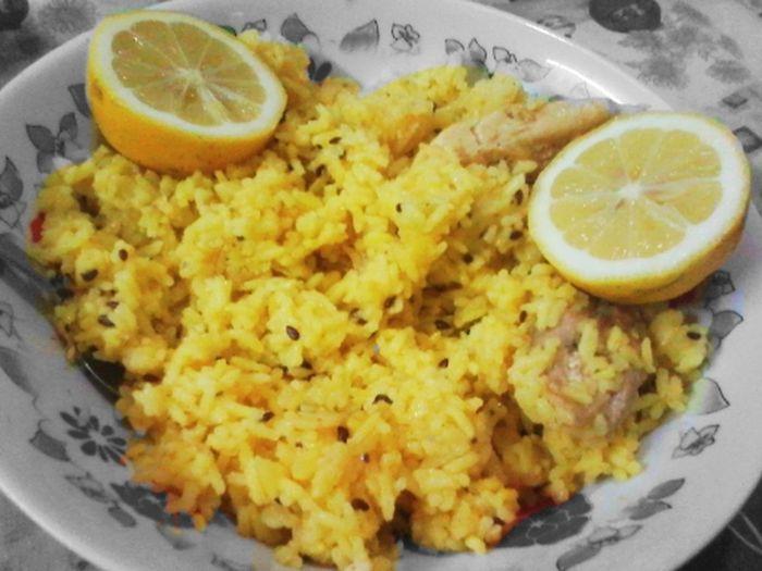 Color Palette Comida Eat Arroz Limon Rice Leemon Amarelo Amarillo Yellow Color