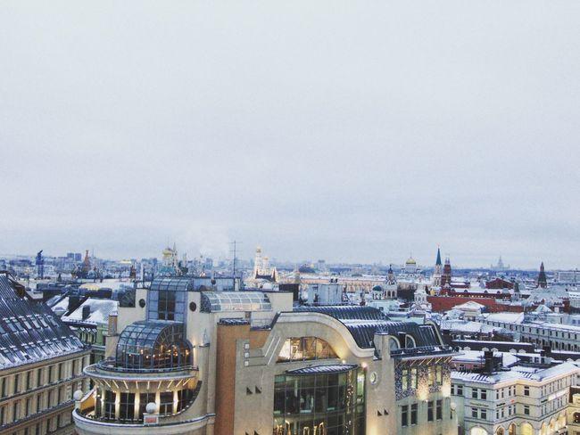 небо Москва Россия крыша центр Moscow Russia Followme
