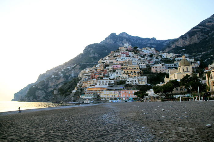 Beach Beauty In Nature Building Exterior Evening Walk Landscape Mountain Mountain Range Nature No People Outdoors Positano, Italy Scenics Sea Neighborhood Map