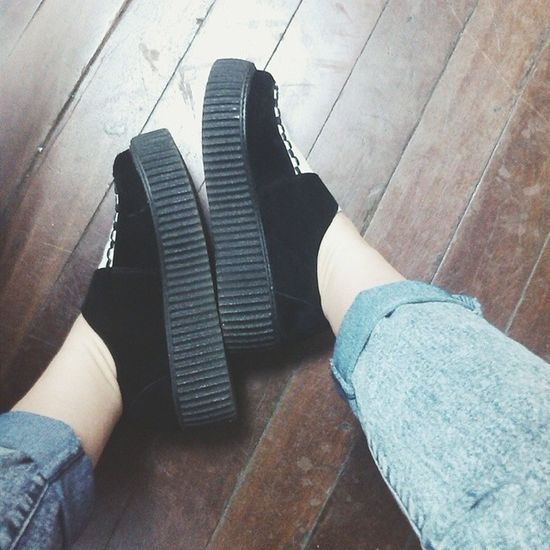 I don't care, I love it Creepers Shoelfie