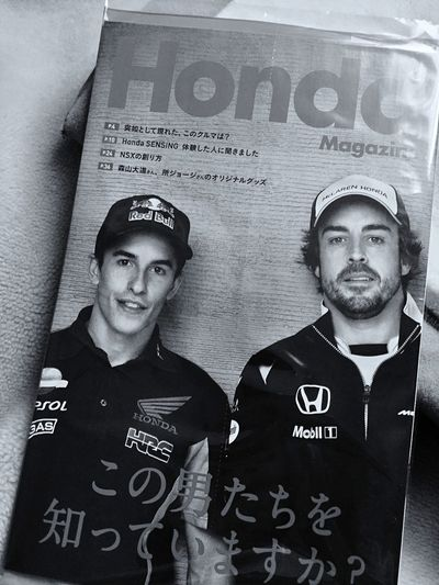 Relaxing @ Home Reading A Book Received Honda Magazine 2017 Winter / Do you know guys? Real Time Feed 📱 iPod touch capture de Good Afternoon Black And White Portrait Honda