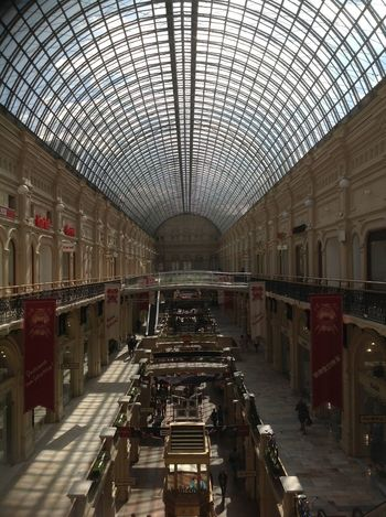 Architecture Day Gum Indoors  Leisure Activity Moscow No People Travel Destinations