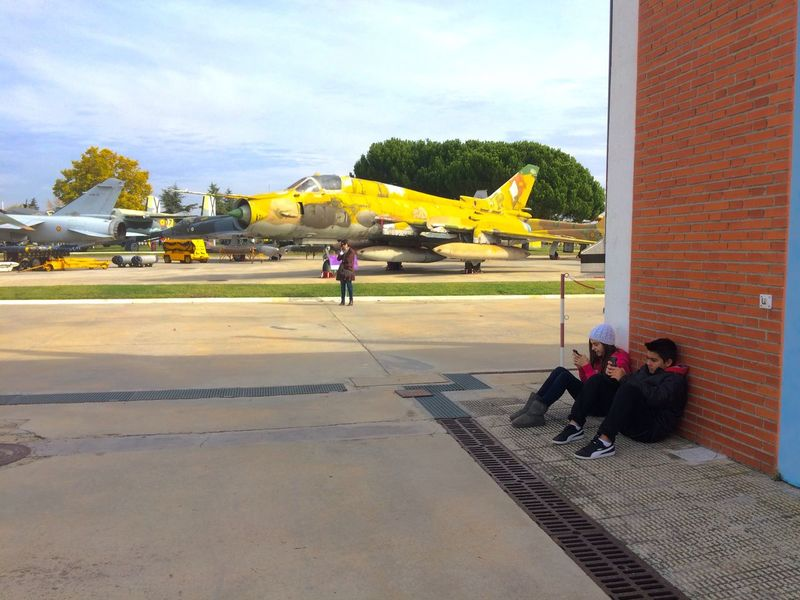 Visita al Museo Museum del Aire Museo Del Aire en Cuatro Vientos Madrid España Madrid, España