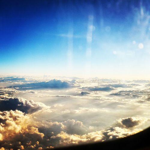 Flight ✈ Clouds And Sky Feellikeabird Freedom