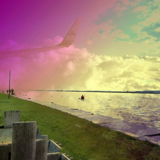 Enjoy The New Normal mixing traveling Likeadream Bestmoments Relaxing Flying Flying High Sky Sky And Clouds Ocean Art